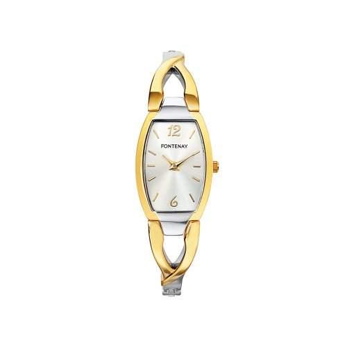 Fontenay Damen-Armbanduhr Analog Quarz Mehrfarbig UC2603AL