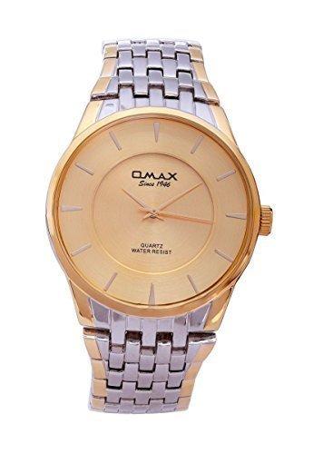 Rosen Gold Beschichtet OMAX Marke Herren Modern Mode Analog Japanische Quarz Uhr