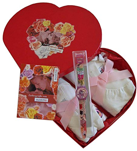 Swatch Gent Valentins Special FOR YOUR HEART ONLY LIEBES GRUESSE GR127
