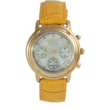 Krug Baumen 150574DMD DUP Mens Principle Diamond Champagne Dial Watch