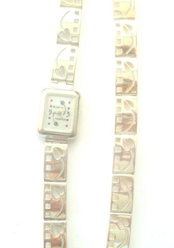 Art of Mackintosh Sterling Silber Armbanduhr und Armband Set