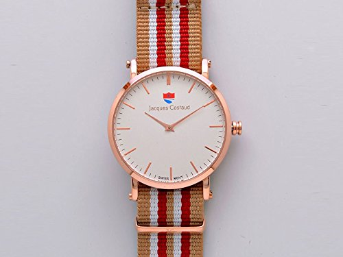 JACQUES COSTAUD DOLCE VITA Acapulco Rose Gold JC 1RGWN01 Mens Watch