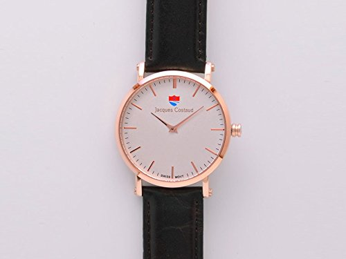 JACQUES COSTAUD DOLCE VITA Val DIsere Rose Gold JC 1RGWL06 Mens Watch