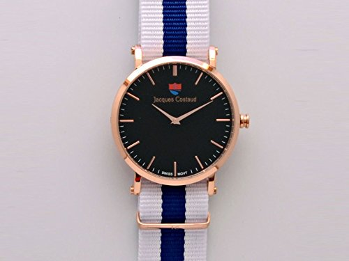 JACQUES COSTAUD DOLCE VITA St Tropez Rose Gold JC 2RGBN04 Womens Watch