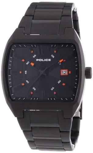 Police Herren-Armbanduhr DISTRICT Analog Quarz Edelstahl beschichtet P13407JSB-02M