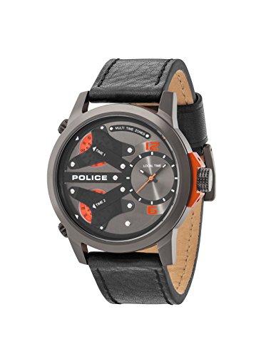 Police King Cobra schwarz grau PL14538JSU 61