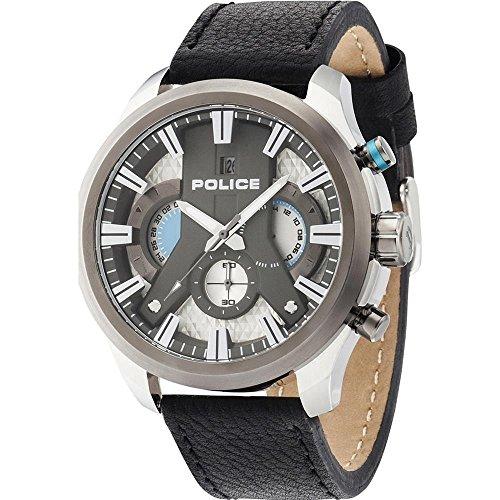 POLICE Cyclone Herren Chronograph schwarz silber PL14639JSTU 04
