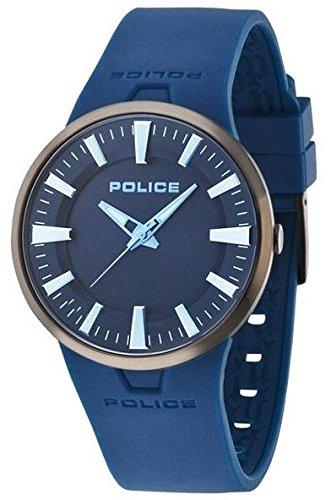 POLICE Damen Armbanduhr XL DAKAR Analog Quarz Kautschuk P14197JSBU 03