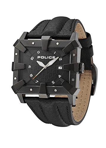 Police Detroit Analog Quarz Leder PL 93404AEU 02A