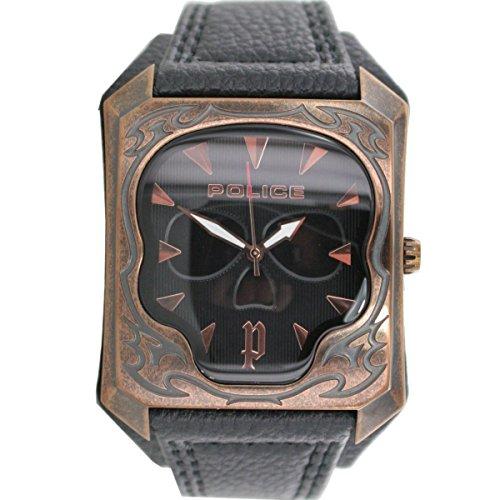 Police Armbanduhr Leder Analog PL 14252JSQR 02