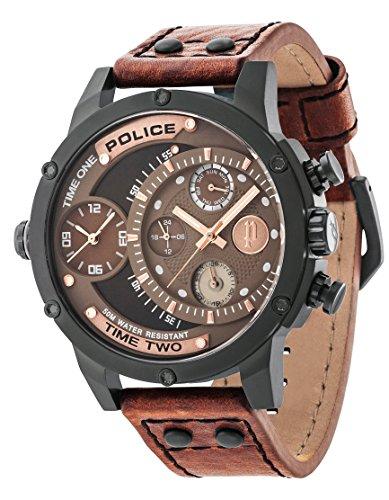 Police Herren Armbanduhr Adder Analog Handaufzug 14536JSB 12A