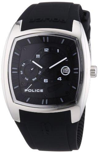 Police Herren Armbanduhr TORQUE Analog Quarz Plastik P13547JS 02