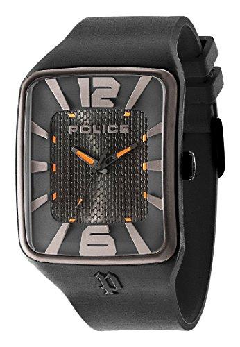Police Savannah Herren Armbanduhr Analog Quarz Silikon PL 94741AEU 02P