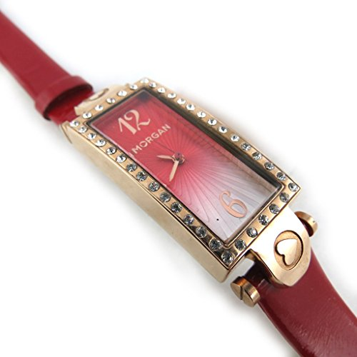 Armbanduhr french touch Morganred goldfarben rosa verfuehrung