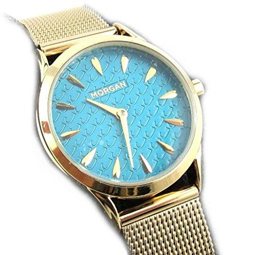 Armbanduhr french touch Morgantuerkis goldfarben elegance