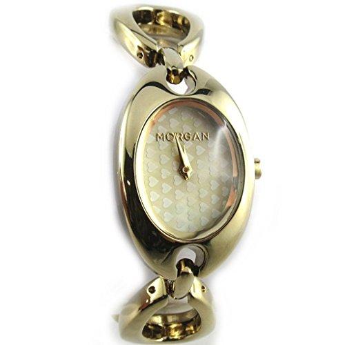 Armbanduhr french touch Morgangoldfarben elegance