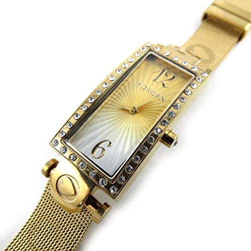 Armbanduhr french touch Morgangoldfarben verfuehrung