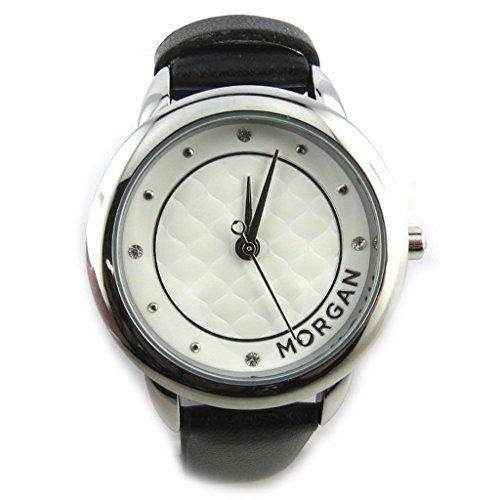 Armbanduhr french touch Morganschwarz weiss