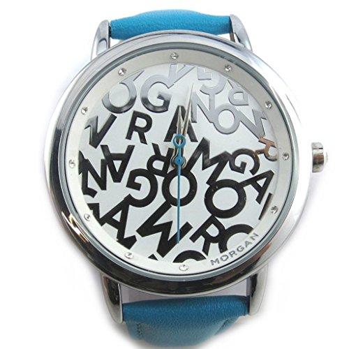 Armbanduhr french touch Morgantuerkis monogramm