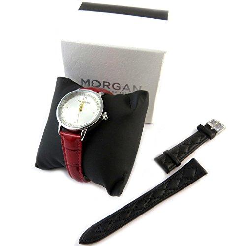 Box shows armband Morganschwarz silber rot