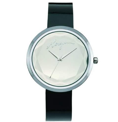 Morgan Damen-Armbanduhr Analog Leder schwarz M1063B
