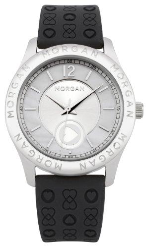 Morgan Damen Armbanduhr Analog Quarz Schwarz M1132B