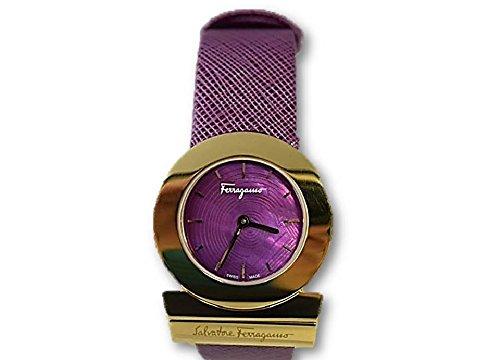 Ferragamo Salvatore Ferragamo Gancino Lila Zifferblatt Damen Watch FP5030013
