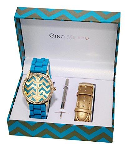 Gino Milano Damen Armbanduhr Analog Quarz Metall MWF14 036A