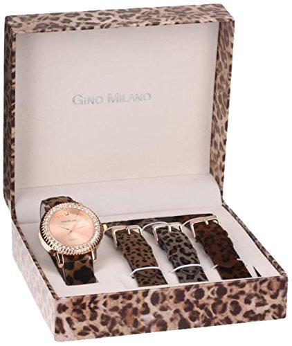 Gino Milano Damen Armbanduhr Analog Quarz Mehrfarbig MWF14 031B