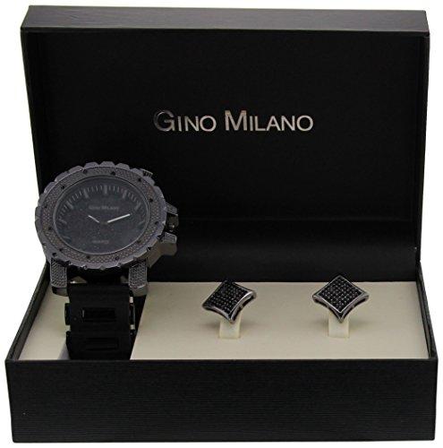 Gino Milano Damen Armbanduhr Analog Quarz Schwarz MWF14 011