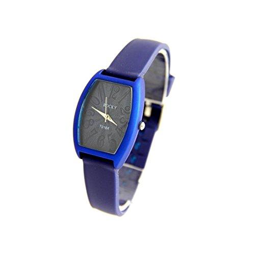 Damen Armbanduhr Silikon blau Fantasie Rocky 426