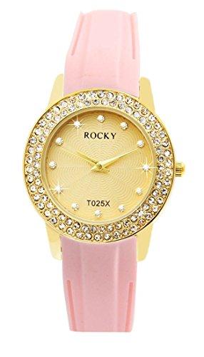 Silikon rosa Rocky 120 Diamanten CZ 1384