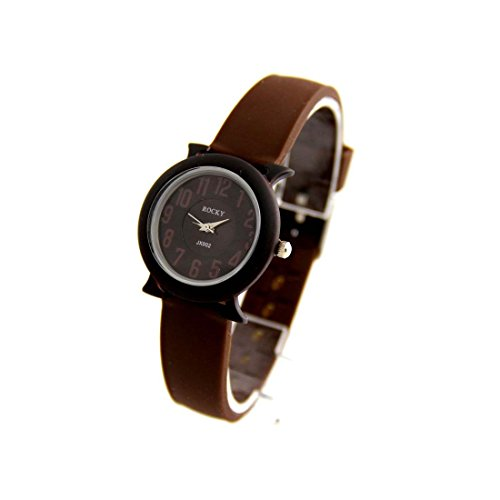 Zeigt Damen Armband Silikon Schokolade Rocky 2377