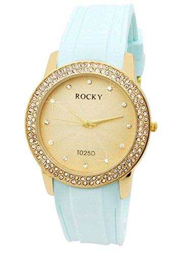 Zeigt Damen mit Silikon blau Rocky 120 Diamanten CZ 659