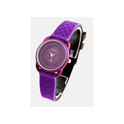 Zeigt Damen Fashion Silikon Violett Rocky 590