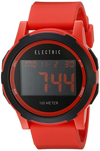 Electric Herren Uhr Prime Silicone Red