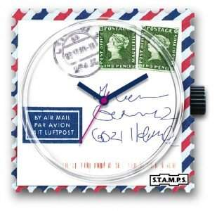 STAMPS Uhr Airmail For You 1211050