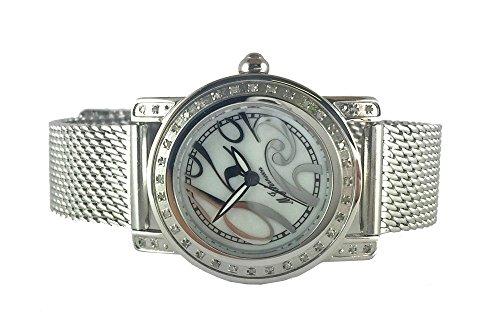M Johansson Edelstahl Damen Quarz Armband Uhr EmiliaSSW