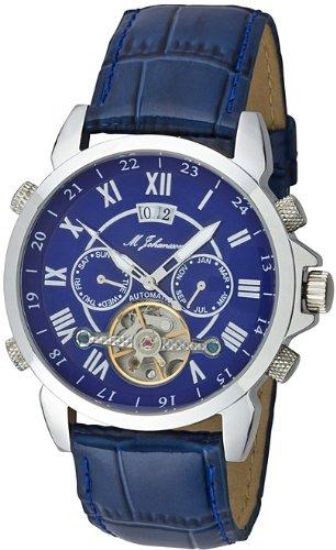 M Johansson Herren Automatik Armband Uhr AulisLSBL