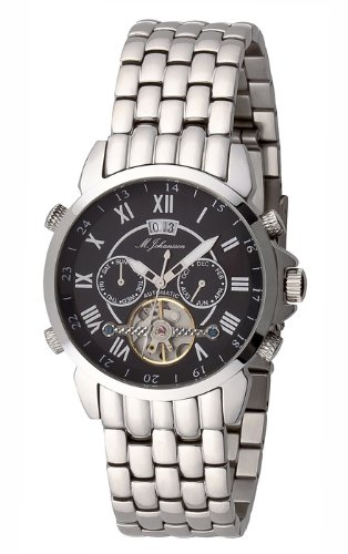 M Johansson Herren Automatik Armband Uhr AulisSSB