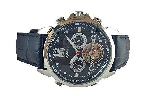 M Johansson Herren Automatik Armband Uhr LunusLSB