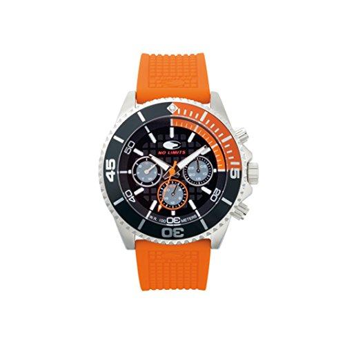 No Limits Uhr Unisex Erwachsene No Limits Uhr Unisex Erwachsene NLT65005 VERT orange TU