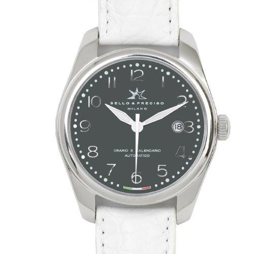 Bello Preciso italienische Armbanduhr Modell 39 Grigio