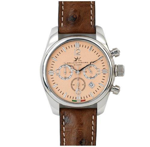 Bello Preciso italienische Armbanduhr Modell Crono Cipria