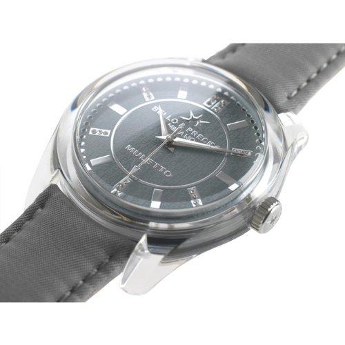 Bello Preciso italienische Armbanduhr Modell Muletto Piombo