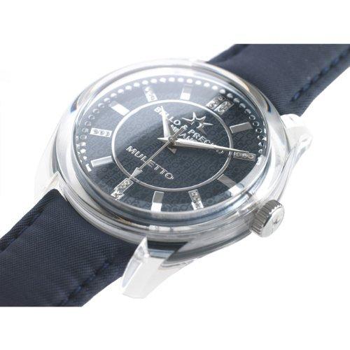 Bello Preciso italienische Armbanduhr Modell Muletto Nero