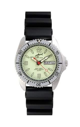 Chris Benz One Medium 200m Neon - Silver KB Armbanduhr Taucheruhr