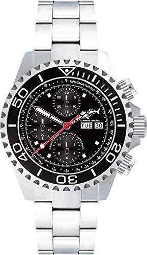 Chris Benz Deep 500m Chronograph CB-500A-C1-MB Herren Automatikchronograph Taucheruhr