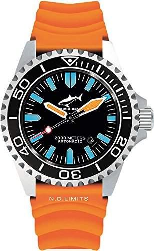 Chris Benz Uhr Taucheruhr Deep CB-2000A-G1-KBO