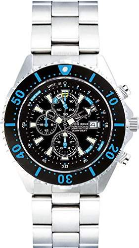Chris Benz Uhr Taucheruhr Depthmeter Chronograph CB-C300-B-MB